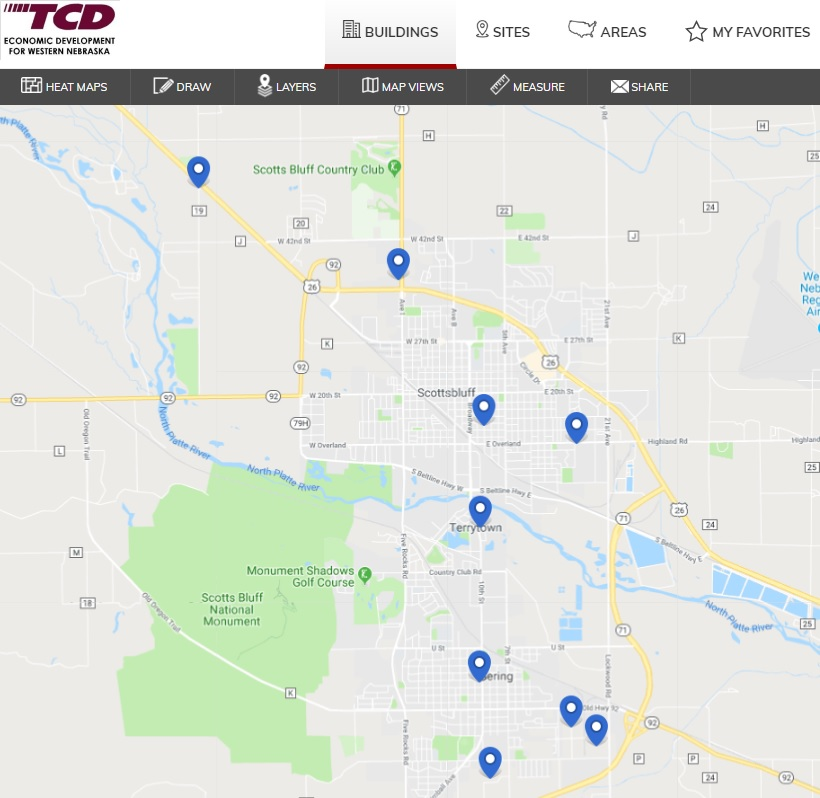 TCD Available Properties